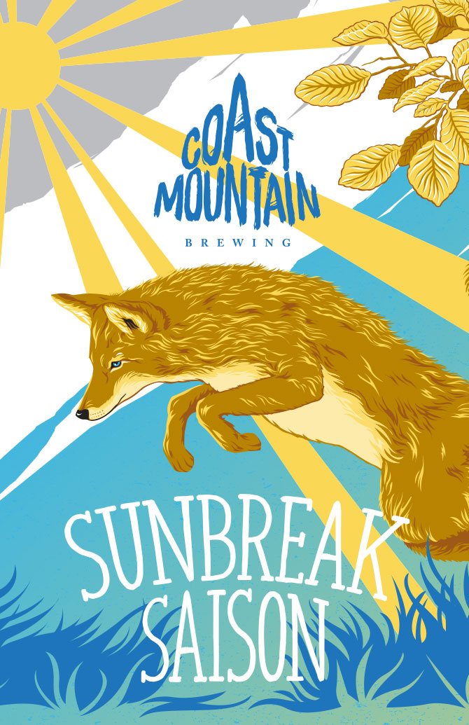 Coast Mountain Brewing Sunbreak Saison