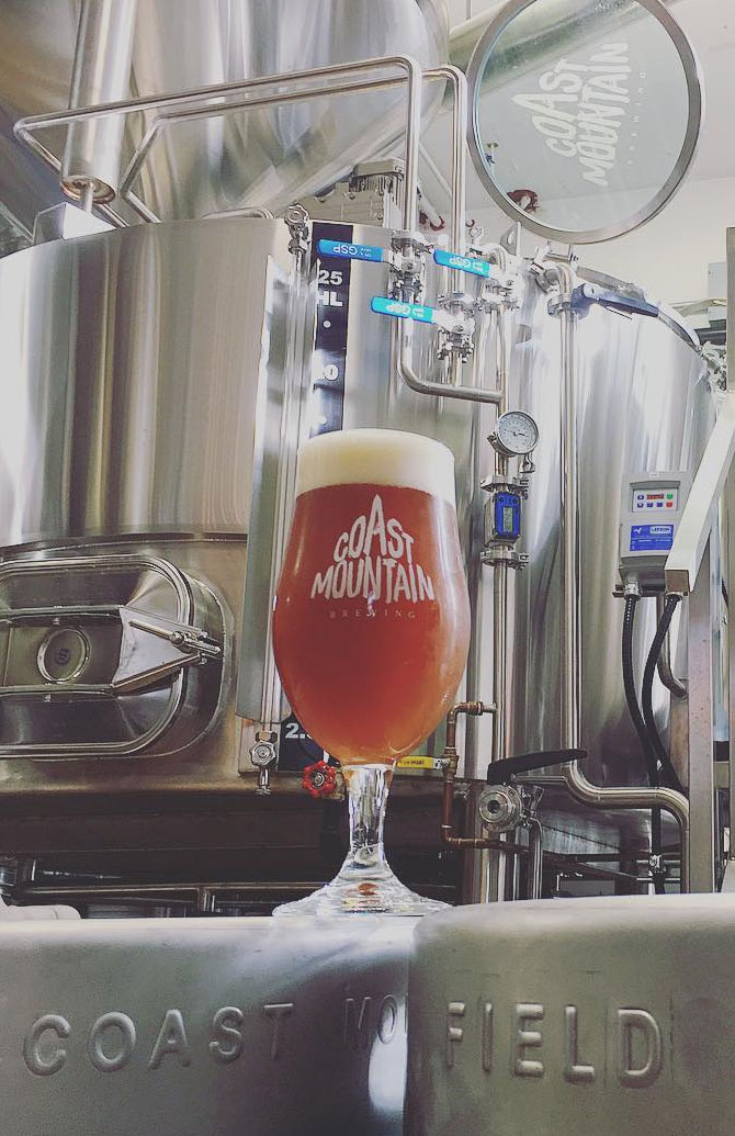 Coast Mountain and Field House Brewing Collaboration