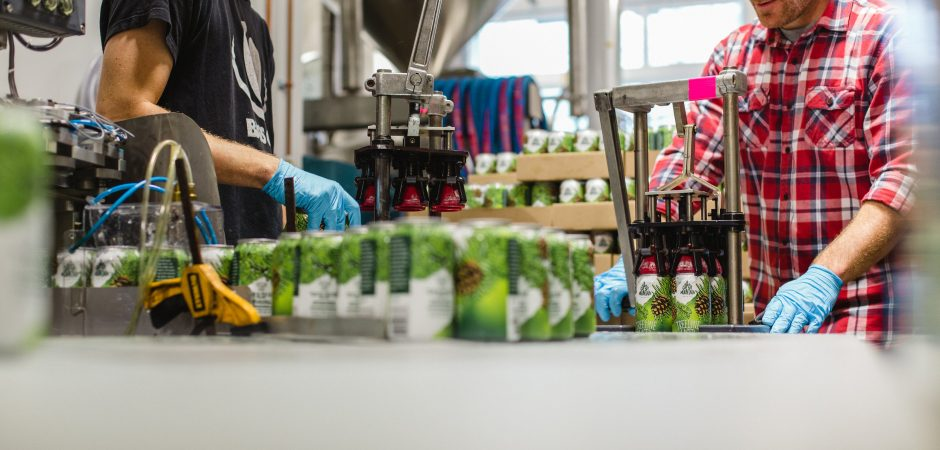 Coast Mountain Brewing Canning