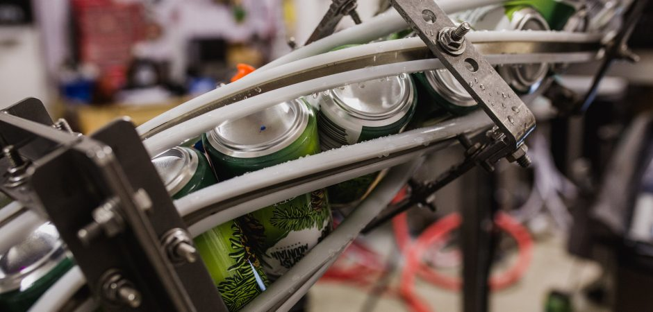 Coast Mountain Brewery Canning