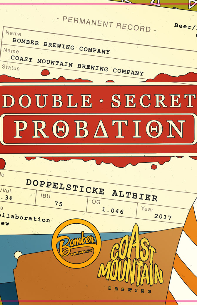 Coast Mountain Brewing and Bomber Brewing Collaboration
