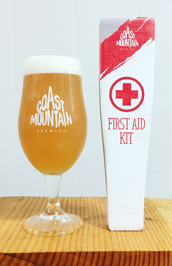 Coast Mountain First Aid Kit Beer
