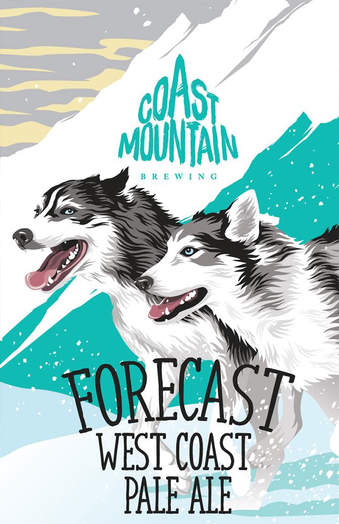 Coast Mountain Brewing Forecast West Coast Pale Ale