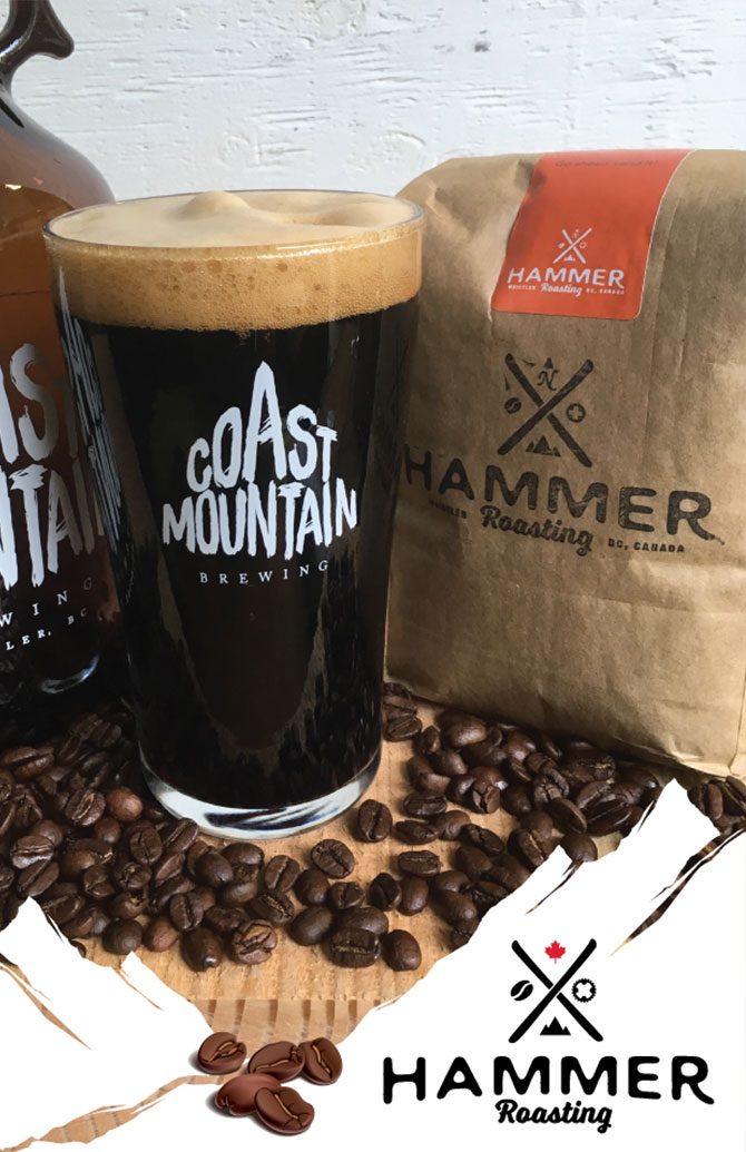 Coast Mountain Hammer Coffee Porter