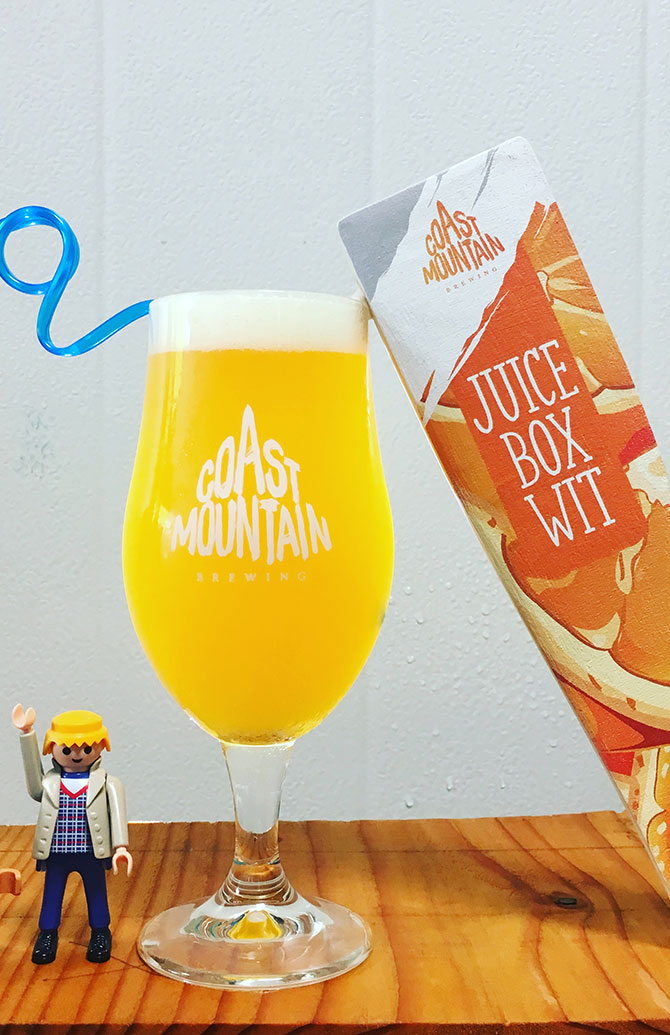 Coast Mountain Brewing Juice Box Wit