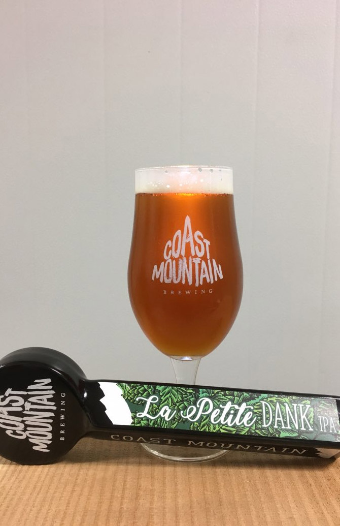 Coast Mountain Brewing Le Petit Dank IPA