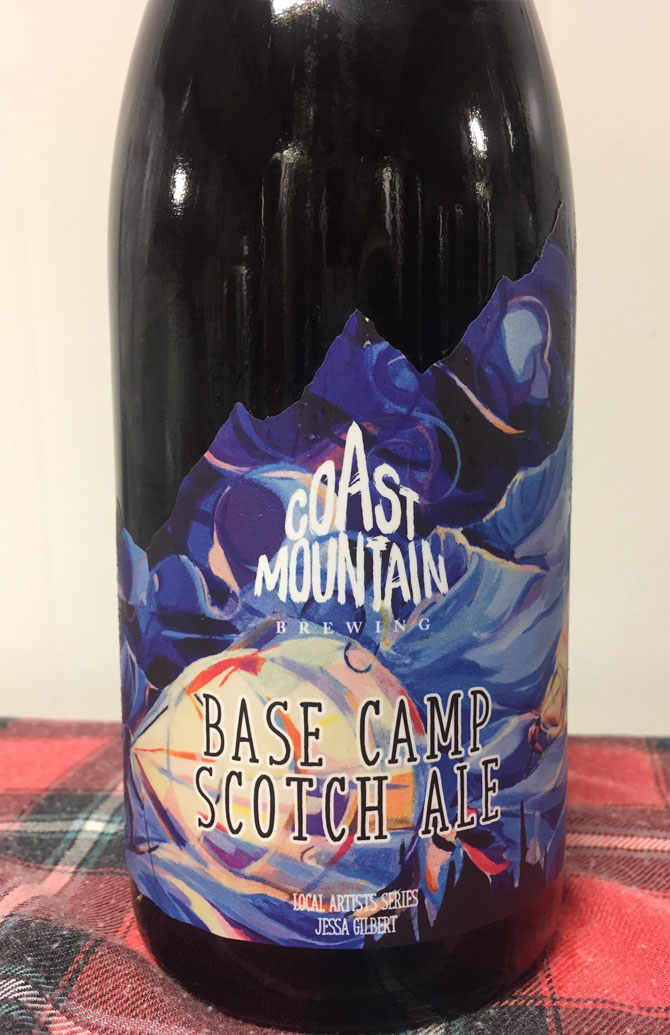 Basecamp Scotch Ale - Coast Mountain Brewing