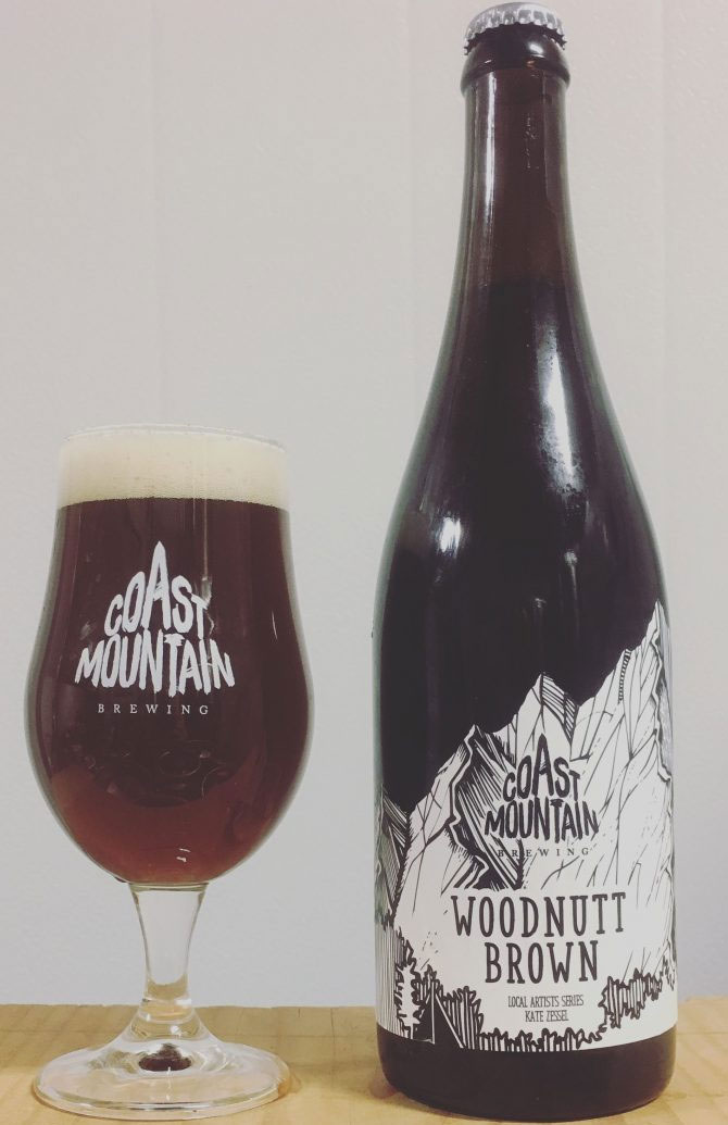 Woodnutt Brown Ale - Coast Mountain Brewing