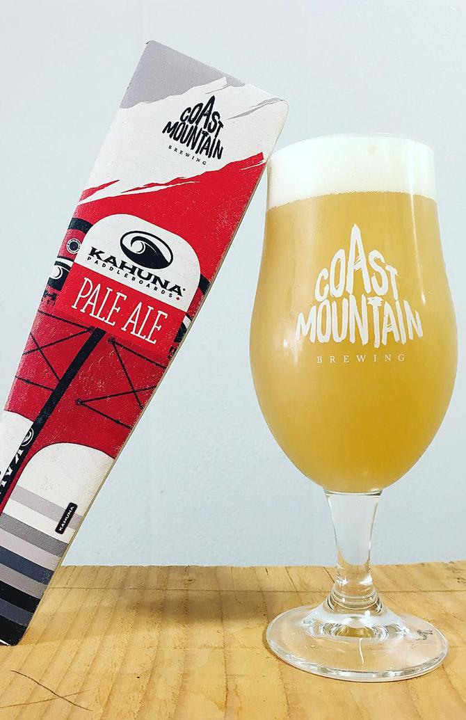 Kahuna Hazy Pale Ale - Coast Mountain Brewing